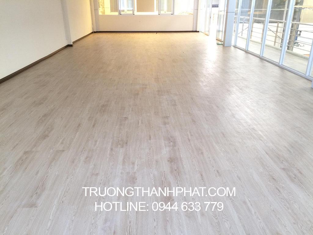 Công trình Sàn nhựa vân gỗ Deluxe 1008