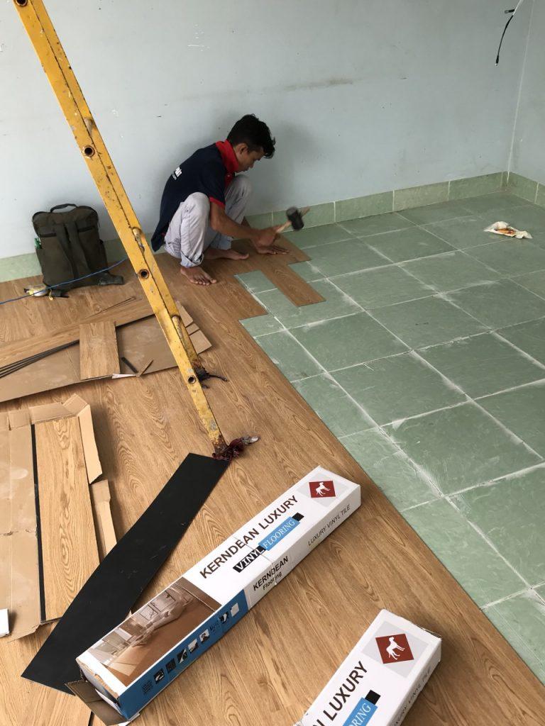 Sàn nhựa giả gỗ 3mm