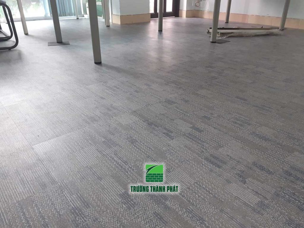 Sàn nhựa vân thảm cho văn phòng TP HCM