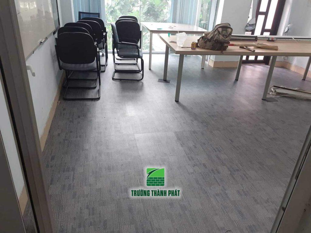Sàn nhựa giả thảm cho văn phòng TP HCM
