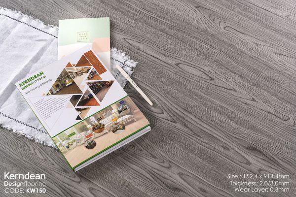 Sàn nhựa vân gỗ Kerndean KW150
